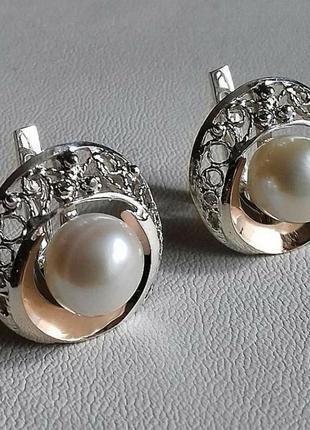 Серьги и кольцо комплект