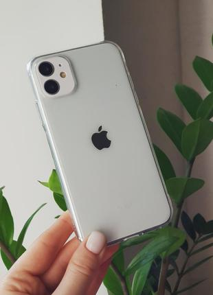 Прозрачный силиконовый чехол на iphone 5/7plus/x/xs max/11 pro...