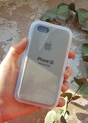 Чехол на iphone 5 / 5s / se silicone case чохол айфон