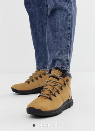 Кожаные ботинки timberland !