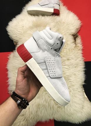 Светлые мужские зимние кроссовки adidas tubular invader royal ...