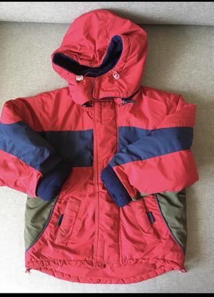 Теплая куртка для мальчика 92р