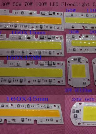 Светодиод 50w 220v LEd Smart IC 50w 6500K светодиодная матрица 50