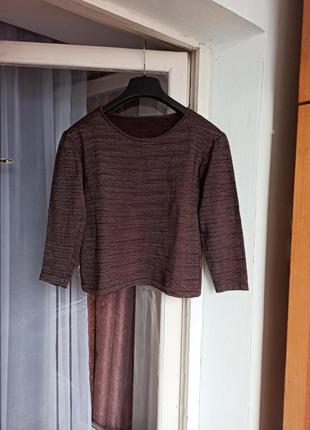 Укороченный свитер топ missoni
