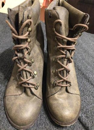 New look ботинки сапоги