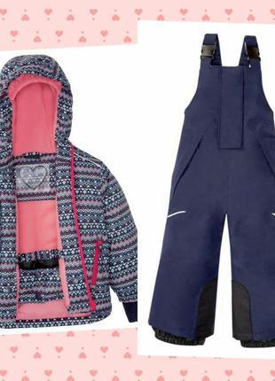 Р. 98-104, новый! лыжный костюм термо мембранный crivit, германия