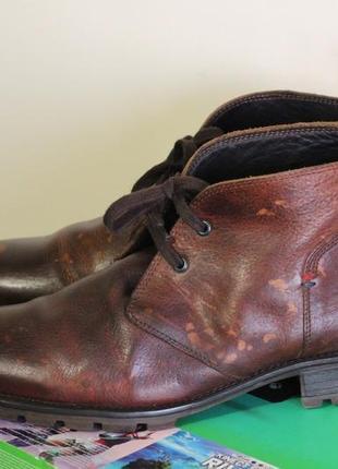 Стильные кожаные ботинки tommy hilfiger 43-44