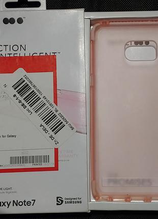 Чехол Розовый Противоударный для Samsung Galaxy Note 7 от tech21