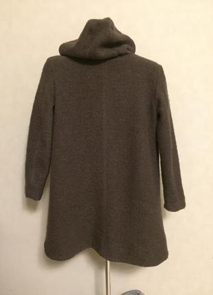 Пальто  теплое шерстяное please  производство италия размер s-м