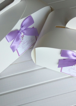 Коробки для солодкого. Коробки для весілля. Весільна упаковка.