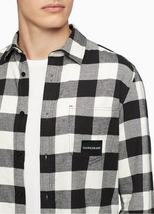 Мужская фланелевая рубашка Calvin Klein