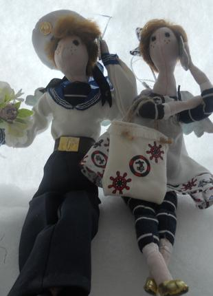 Кукла-тильда Морячок
