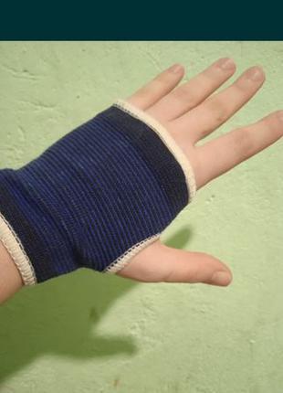 Бандаж на кисть руки , бандаж на лучезапястный сустав через па...