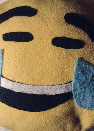 Подушка смайлик