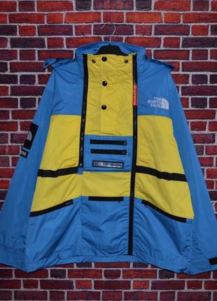 Куртка supreme x the north face steeptech yellow/