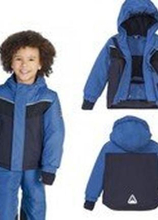 Р. 110-116 лыжный костюм термо мембранный 3к crivit,