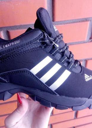 Мужские зимние кроссовки / ботинки adidas climaproof.