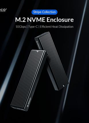 Orico M.2 M2PV-C3 NVMe 10Gbps ssd корпус карман