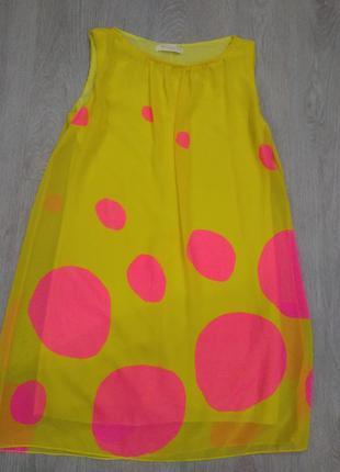 Новое шикарное шифоновое платье  biscuit