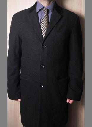 """Крутое полу шерстяное пальто """"jeff banksr"""" 👍 👍 👍"""