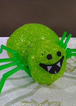 Ночник-паук led декор для праздника хеллоуин