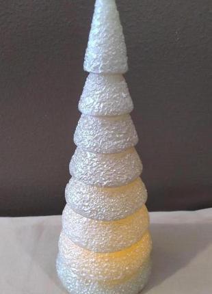Восковая led елка 22 см christmas decorations нидерланды