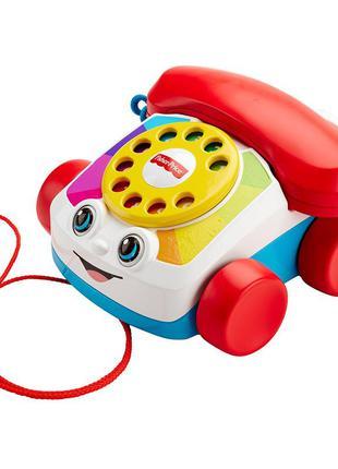 Акция! игрушка-каталка веселый телефон  fisher-price.
