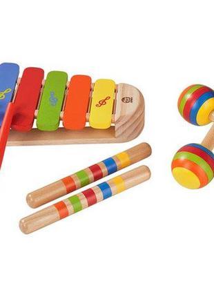Набор деревянных музыкальных инструментов playtive junior