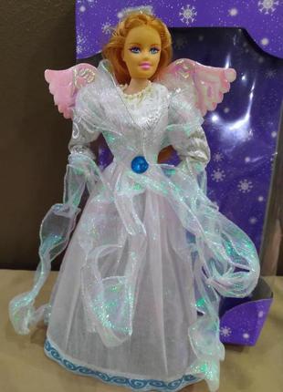 Новогодний декор. кукла-ангел - чехол. 32 см