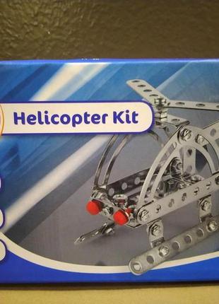 Металлический конструктор с болтами и гайками погрузчик  playt...