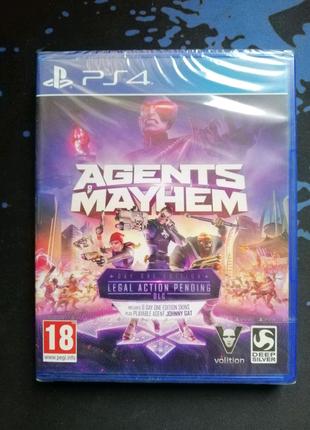 PS4 Agents of Mayhem