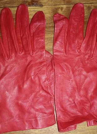 Кожаные перчатки без подкладки jonelle
