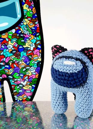 Мягкая игрушка АмонгАс. Handmade .