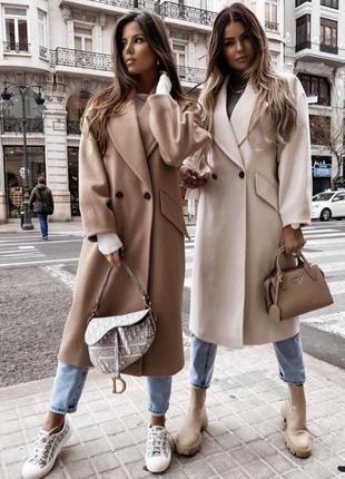 Пальто на подкладке, карманы рабочие, жіноче пальто