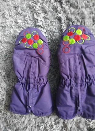 Непромокаемые теплые рукавицы варежки thinsulate
