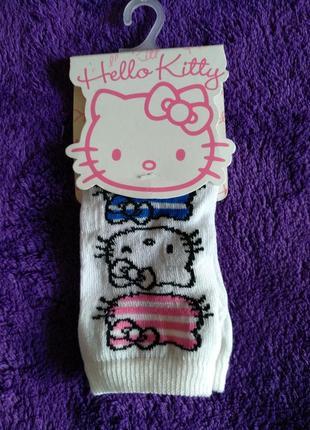 Носочки hello kitty