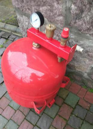 Росширительный бак 50л + защита, для системы отопления, розширюва