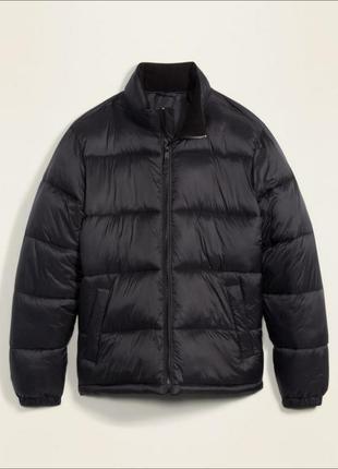 Куртка пуховик на молнии размер м.с