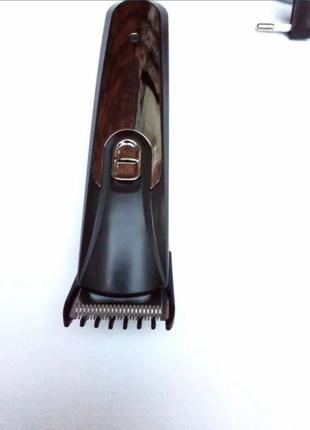 Машинка для стрижки волос тример волосся триммер бороды Gemei