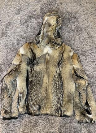 куртка меховая мужская