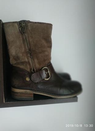 Ботинки Clarks 6 и7 размер