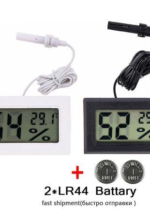 Гигрометр влагомер  электронный  измеритель влажности с датчиком