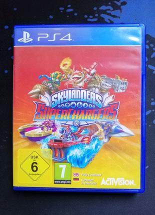 PS4 Skylanders Superchargers