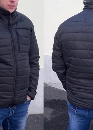 Мужская куртка весна осень демисезонная большой размер