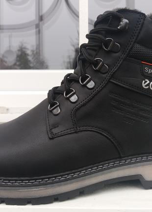 Ботинки зимние мужские Ecco 3947