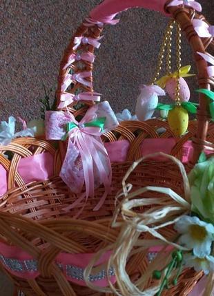 Кошик Великодній, декорований.