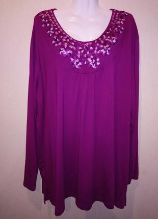 Туника,блуза большого размера