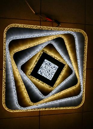 Світодіодна LED люстра TM Sirius LI8900/500 WH