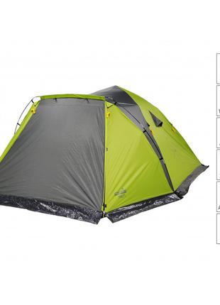 Палатка Norfin Trout 5 (NF-10410) кемпинг 5-местная полуавтомат