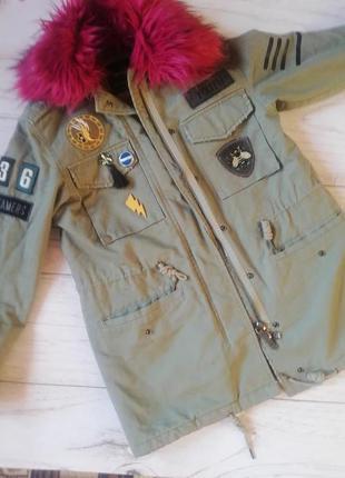 Куртка парка курточка  bershka!